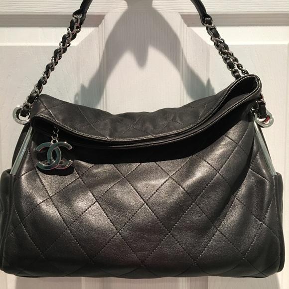 fa81b03cbdb535 CHANEL Bags | Euc Ultimate Small Soft Quilted Hobo Bag | Poshmark